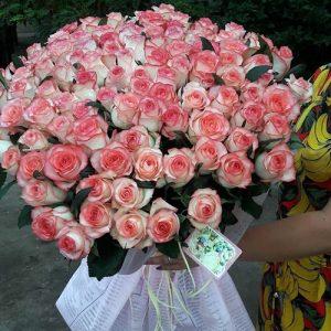 Букет роз Джумилия, 101 роза