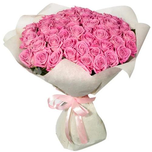 """букет 35 роз """"Аква"""""""