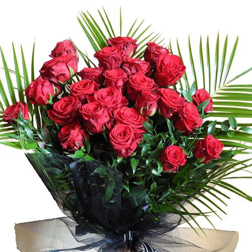 Похоронний букет квітів фото