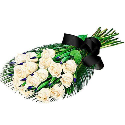 товар Живые цветы на похороны фото