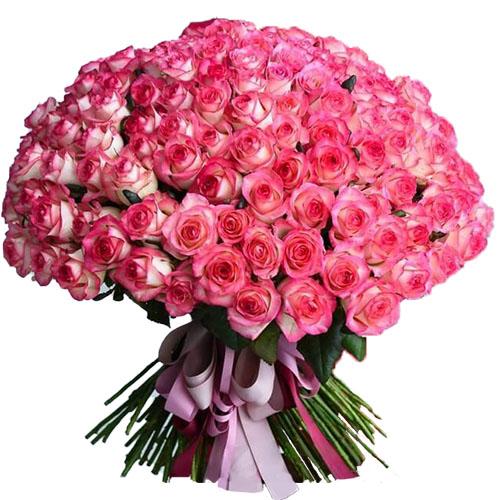 """101 троянда """"Джумілія"""" фото товару"""