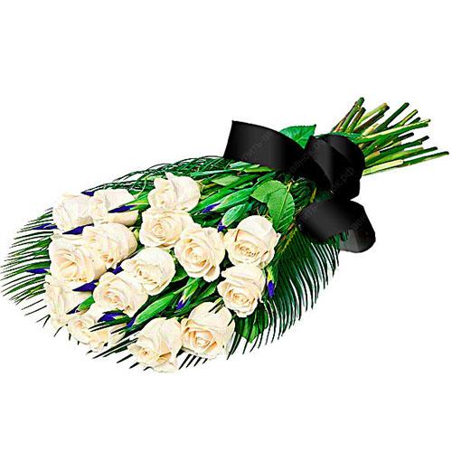 Живі квіти на похорон фото
