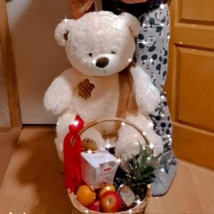 Плюшевий ведмедик 80 см