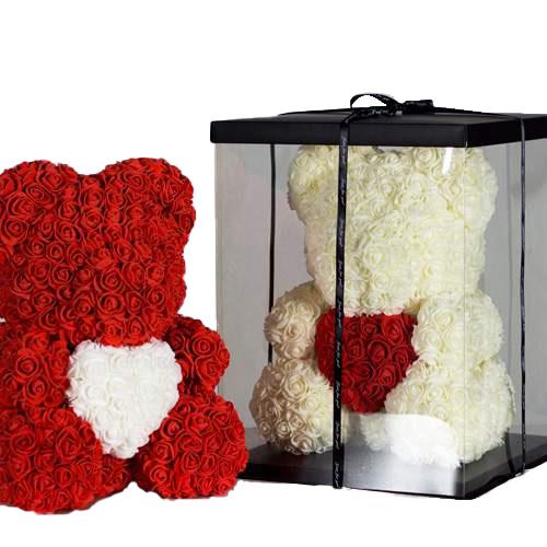 фото товару Ведмедик з троянд