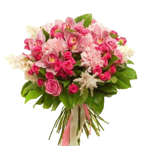 """Букет """"Ностальгія"""" мікс квітів"""