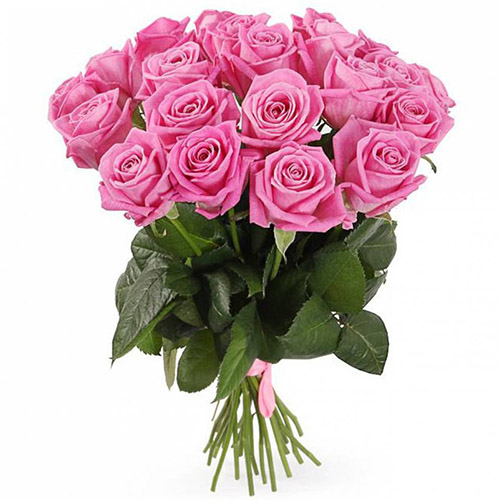 """букет 21 троянда """"Аква"""""""