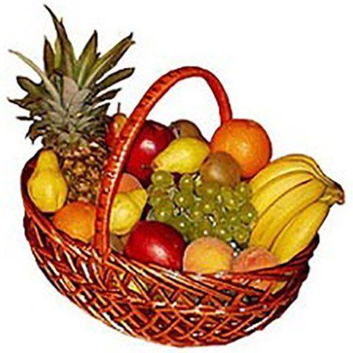 Великий кошик фруктів фото товару
