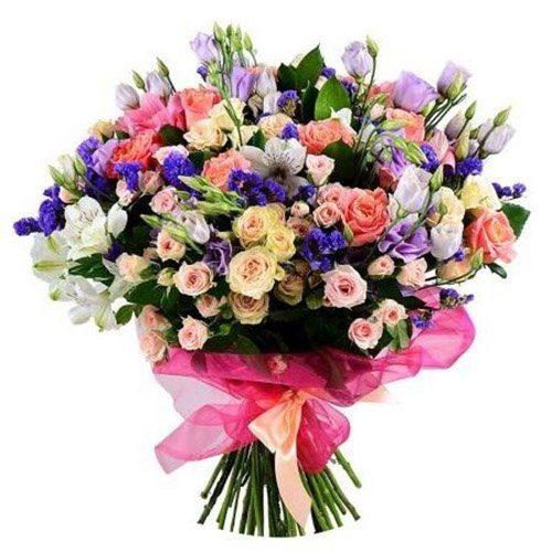 """Букет """"Приємний"""" мікс квітів"""