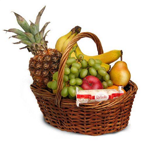 фото товару Середній кошик фруктів