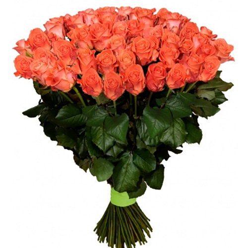 "букет Сто троянд ""Вау"" (101 шт)"