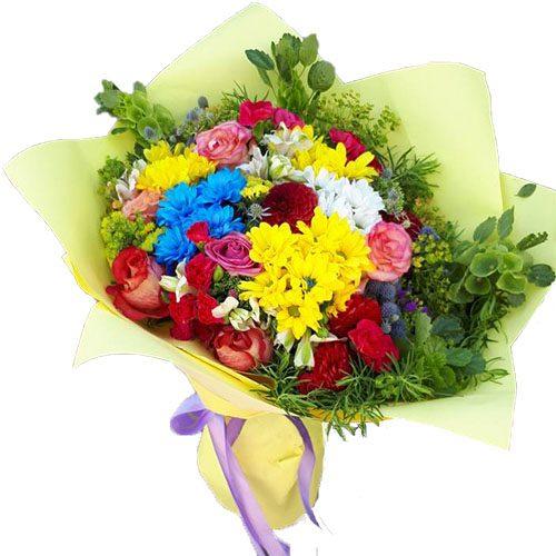 Букет «Літній фреш» мікс квітів