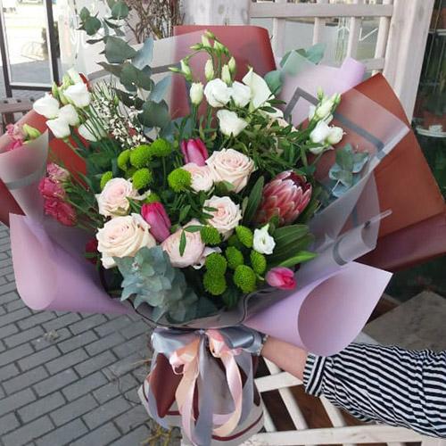 букет цветов в Черновцах